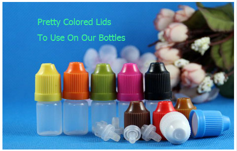 Pretty COLORED Lids Child Proof Caps