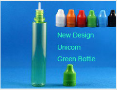 New Design Unicorn Green Bottle